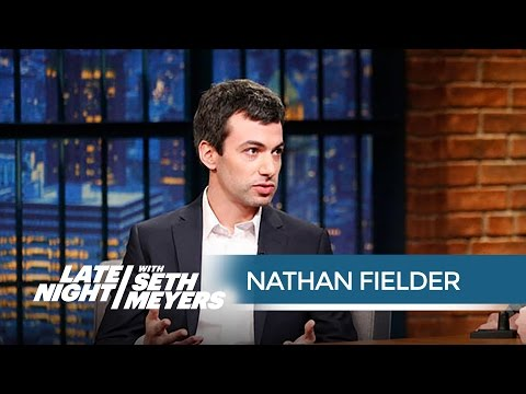 Nathan Fielder Gives Seth a Generous Gift - Late Night with Seth Meyers