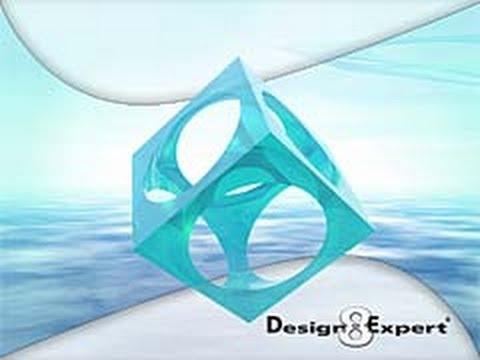 Design Expert 8 0 7 1 Design Steps Youtube
