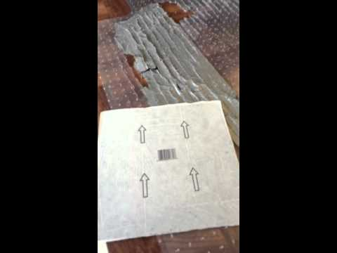 How to make a Homemade Desk Chair mat