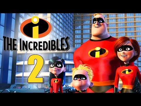 THE INCREDIBLES 2 Movie Sequel Coming 2016!?!