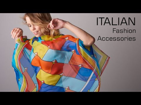Italian silk scarves, jewels and fashion accessories wholesale, direct from manufacturers and brands