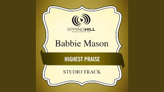 Highest Praise Medium Key Performance Track With Background Vocals