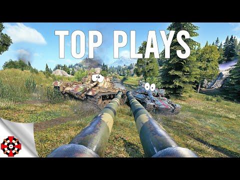 World of Tanks - TOP PLAYS! #50 (WoT IS-3 II, OBJ 703 II gameplay)