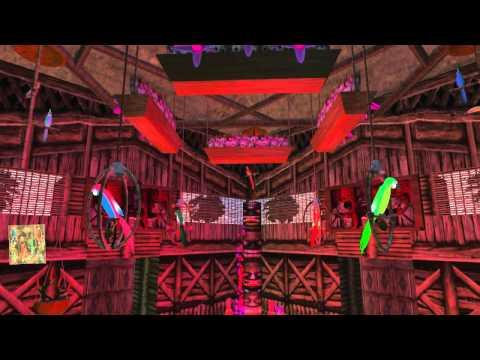 2012 3 19 MUTED Sarah's Magic Kingdom - Enchanted Tiki Room, by Sarah Sandalwood