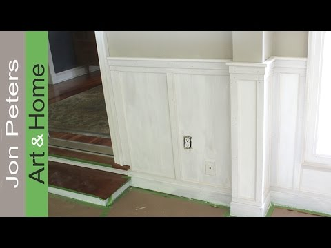 beadboard chair rail cover hire edinburgh prices how to install with flat panel wainscoting youtube