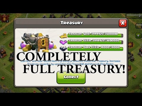 HOW TO FILL YOUR TREASURY IN Clash Of Clans || Road To Max TH 11 Part 1