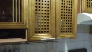 Осина тоже дерево, Кухонный гарнитур -# 2(Изготовлен из отходов осины. 1я - кухня-https://www.youtube.com/watch?v=qjHxxnp3e4o., 2015-12-04T13:01:39.000Z)