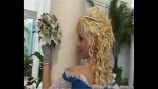 вышивка на свадебном платье