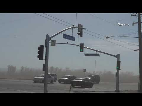 Crazy Footage of the Crazy Santa Ana Winds In Our Crazy Lil Town of Hemet/San Jacinto