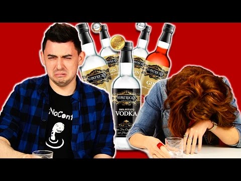 Irish People Taste Test Potato Alcohol