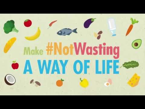 Make Not Wasting a way of life