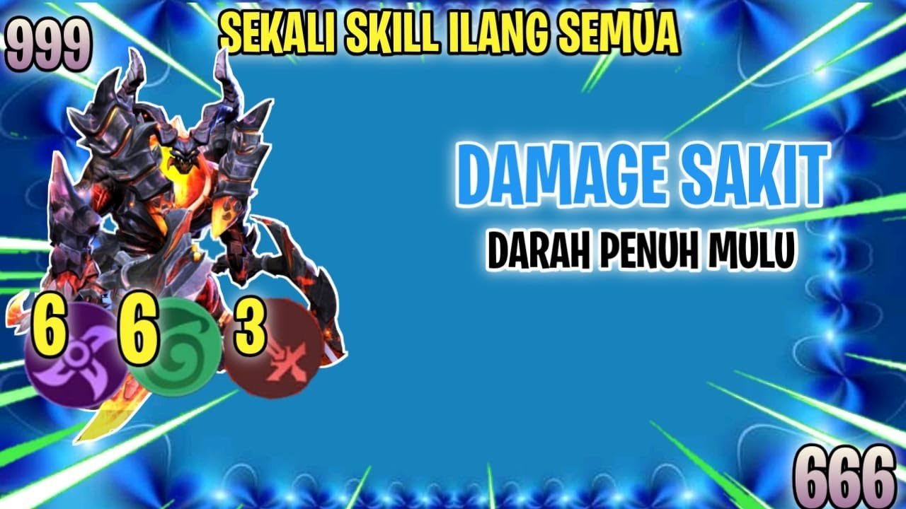 THAMUZ ⭐⭐ + 6 ASSASSIN + 6 ELF + 3 WM DAMAGE SAKIT BANGET,DARAHNYA TEBEL  - MAGIC CHESS INDONESIA