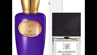 First Impressions: Erba Pura (Sospiro) & Palo Santo (Carner Barcelona)