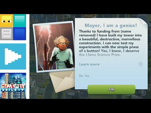 Repeat SimCity BuildIt High level gameplay all disasters by CNS All