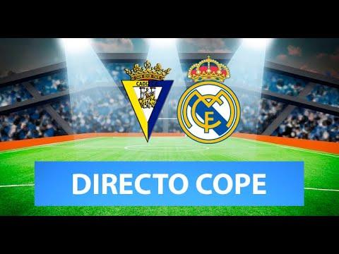 (SOLO AUDIO) Directo del Cádiz 0-3 Real Madrid en Tiempo de Juego COPE