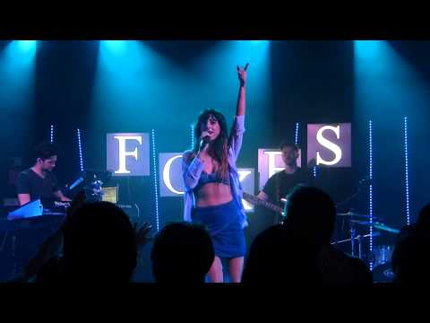 Foxes - Right Here (Rudimental) live East Village Arts Club, Liverpool 29-05-14