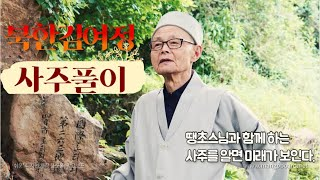 북한 김여정  사주풀이 해원정사 땡초스님TV 께서 풀어주시는 정확한 사주풀이