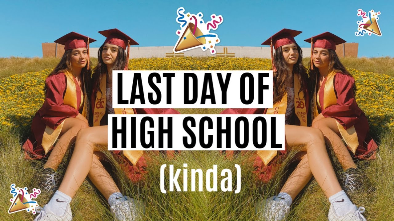 LAST DAY OF HIGH SCHOOL! *drive by parade*
