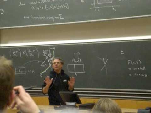 Trubowitz Pausenansprache (Analysis I ETHZ)