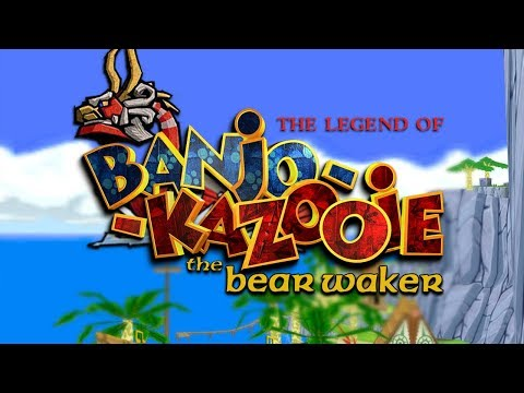 BANJO KAZOOIE x ZELDA WIND WAKER (Playable game)