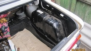 Бензобак ВАЗ 2106 снятие ремонт и установка. Воняет бензин возле топливного бака...(, 2014-03-07T16:52:01.000Z)
