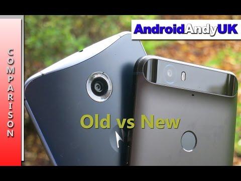 Nexus 6 vs Nexus 6P 1080p HD Video Comparison