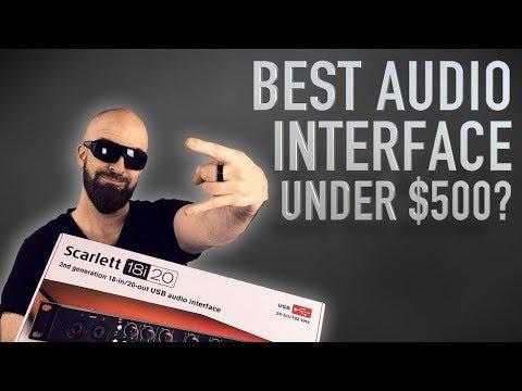 Best Audio Interface Under $500? Focusrite Scarlett 18i20 2nd Gen Review