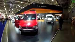 Mercedes-benz на Comtrans 2015 (4k, 3840x2160)