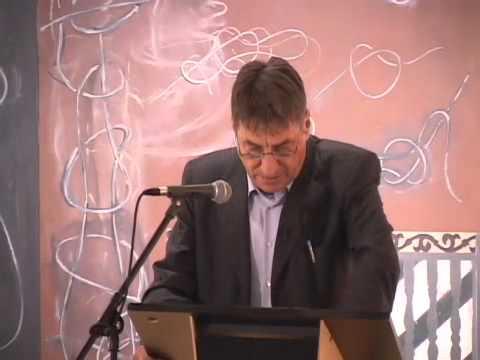 Claudio Magris Presentation, Part 1