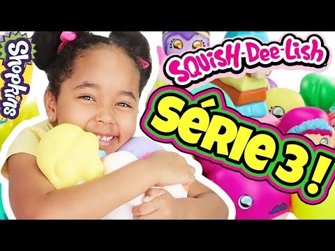 UNBOXING: 6 SACHETS SURPRISES SQUISH DEE LISH SÉRIE 3 !! MYSTERY SQUISHY TOYS HAUL - for kids