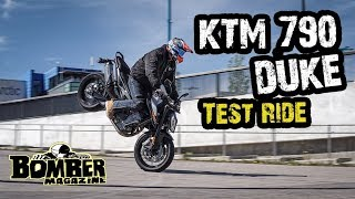 KTM 790 Duke(2019) Bomber Test Ride