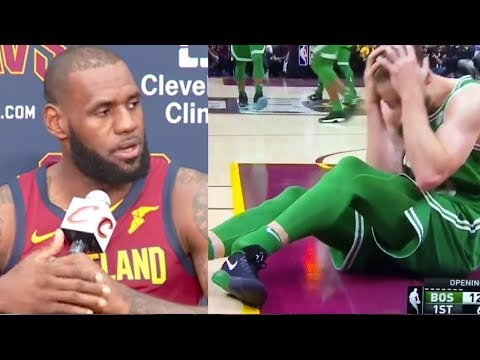 LeBron James & NBA Players React to Gordon Hayward's Gruesome Leg & Ankle Injury