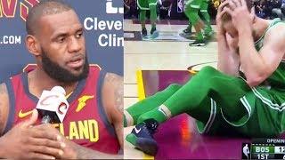 LeBron James & NBA Players React to Gordon Hayward