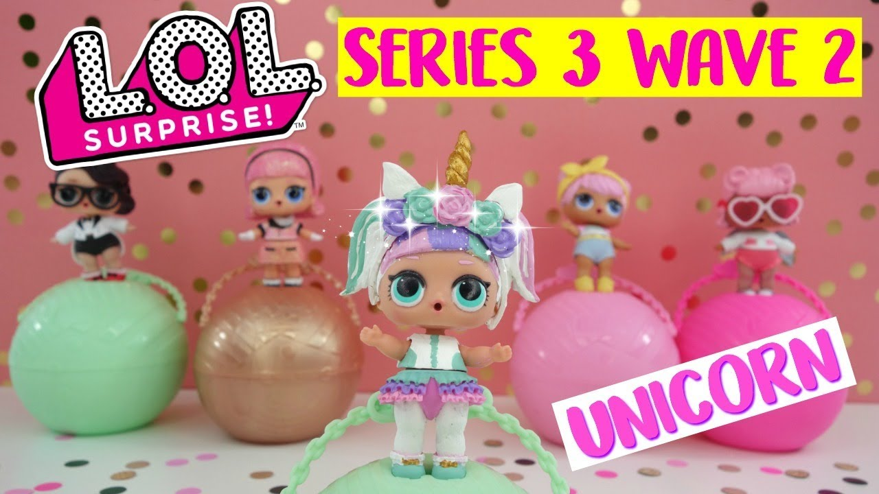 LOL Surprise Confetti Pop Wave 2 Series 3, How to make LOL Surprise Unicorn  from theatre Club, DIY