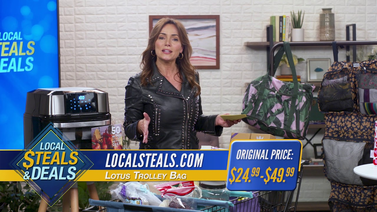 Local Steals And Deals With Rume Bags Lotus Trolley Bag And Gowise