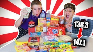 Who Can Gain the Most Weight in 10 MINUTES CHALLENGE!! (100,000 CALORIES) | Zach Clayton