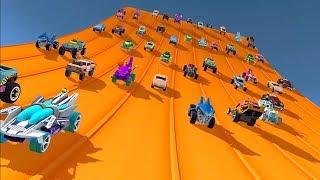 Hot wheels Raсe off мультик игра про машинки видео для детей #МУЛЬТИКЕКС