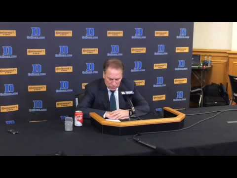 Tom Izzo recaps loss to Duke