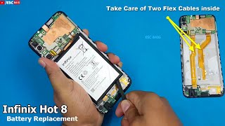 How to Replace Infinix Hot 8 Battery | Infinix Mobile Battery Replacement.