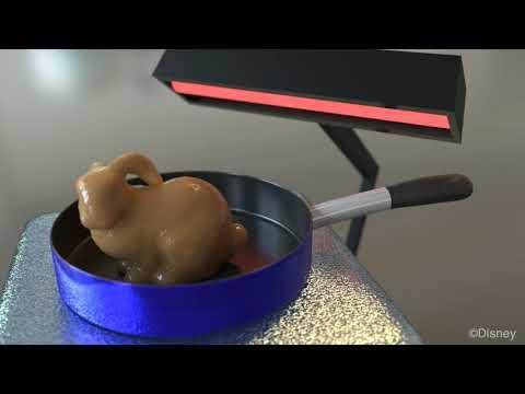 Augmented MPM for phase change (2014) - Advanced  CGI liquid simulation (HD)