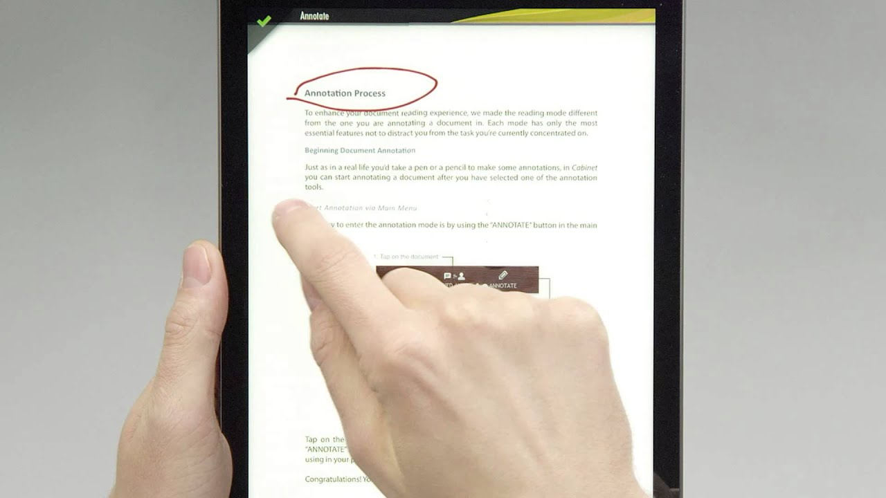 Pdf Cabinet 20 For Ipad €� Document Annotation (tutorial)