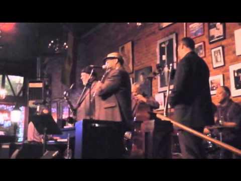 Trombone virtuoso, Phil Abraham, with Clarence Acox   8B / 8