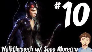 Batman: Arkham Knight Walkthrough - PART 10 - Catwoman Gameplay & The Riddler Challenge!