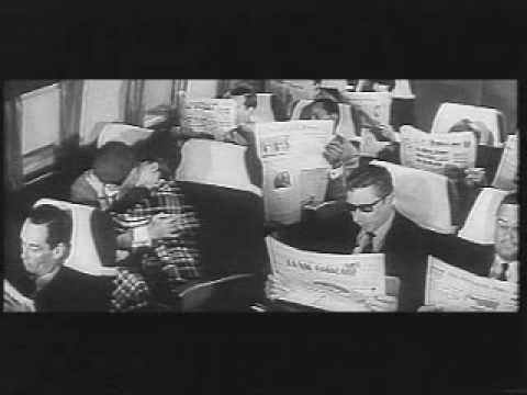 Peau de banane (Marcel Ophuls-1963)-Scene Embrasse moi dans l'avion.avi