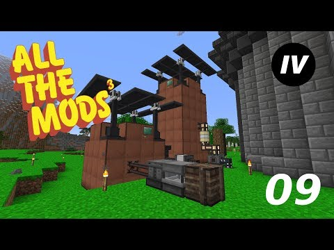 Minecraft All The Mods 3 - Episode 9 - Automation & Lithium