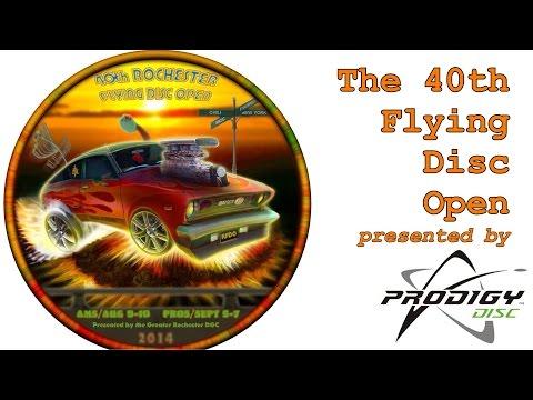 2014 Rochester Flying Disc Open: Final Round (Feldberg, Lizotte, Doss, Koling)