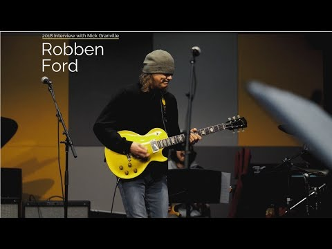 The Artist Series: Robben Ford Interview  social media, gear, touring, Miles Davis and more
