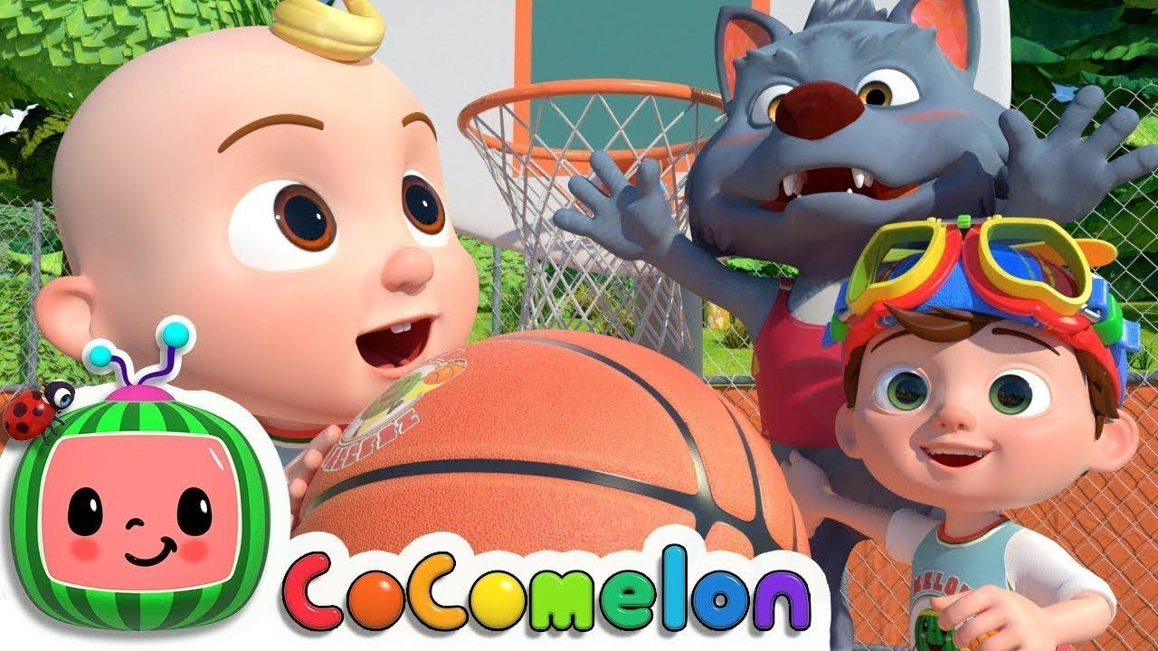 Basketball Song | CoCoMelon Nursery Rhymes & Kids Songs ...
