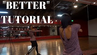 Better by Meghan Trainor TUTORIAL | @DanaalexaNY Choreography
