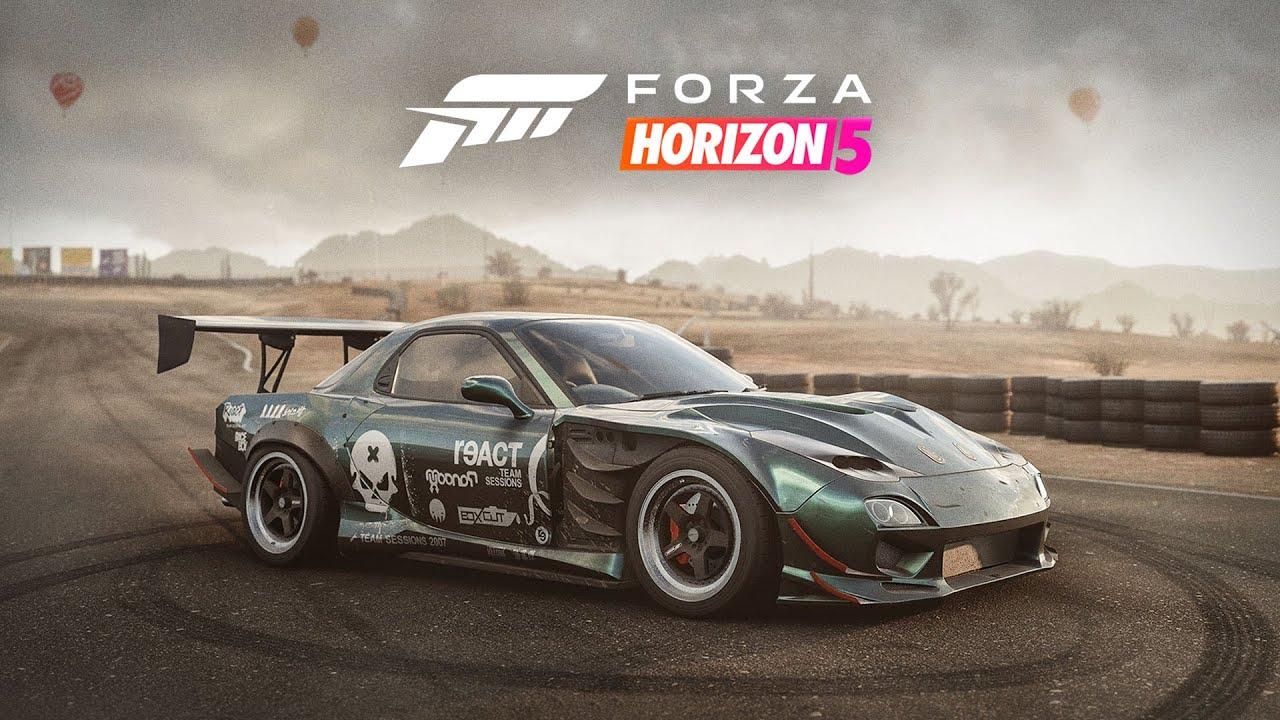Forza Horizon 5 - RX-7 Build